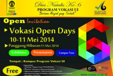 Vokasi Open Days 2014