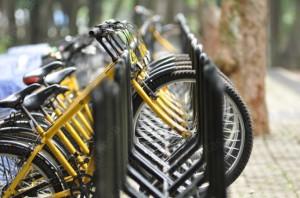 sepeda kuning