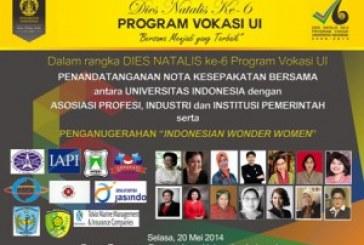 Penganugerahan Indonesian Wonder Woman & Penandatanganan Nota Kesepakatan Bersama