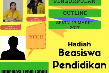 Ikuti pemilihan Mahasiswa Berprestasi Vokasi 2017. Raih hadiah beasiswa pendidikan!