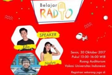 Belajar Radio with Prambors