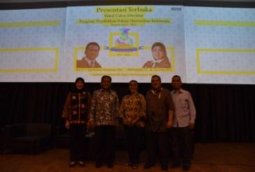 Presentasi Terbuka Bakal Calon Direktur Program Vokasi UI 2017-2021