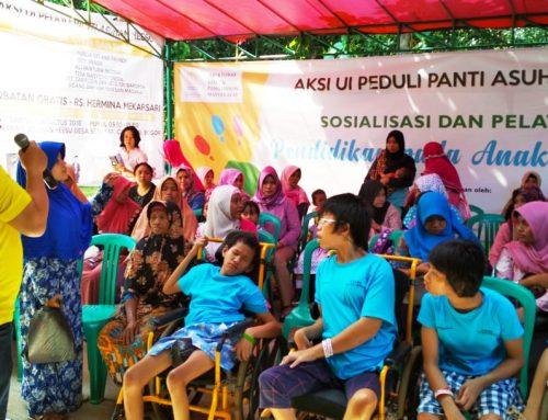 Pengabdian Masyarakat: UI Peduli Ajarkan Metode Cepat Penguasaan Kata untuk Anak Difabel Usia Dini