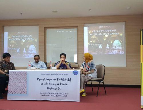 Kreasi Anyaman Modifikatif Untuk Kalangan Muda Pariwisata
