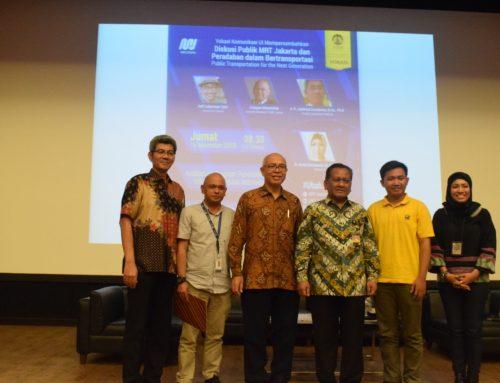 MRT Jakarta Goes to Campus : Vokasi Komunikasi UI Dorong Mahasiswa Gunakan MRT Jakarta
