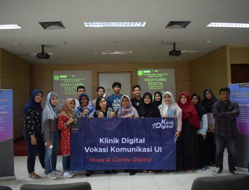 Vokasi UI Luncurkan Klinik Digital  Kenali, Seleksi dan Hindari Hoax & Candu Digital