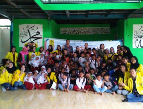 Vokasi UI Pupuk Semangat Siswa Sekolah Master (Masjid Terminal)  Depok