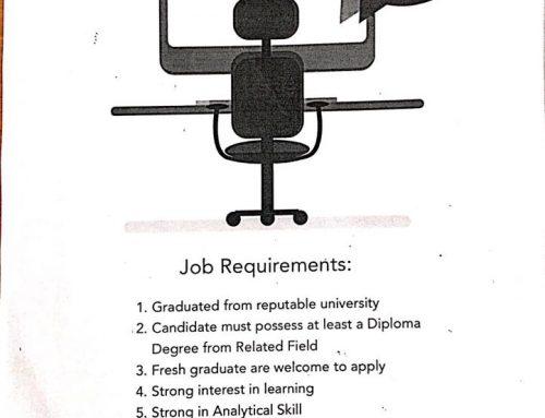 Lowongan Kerja Accounting Staff
