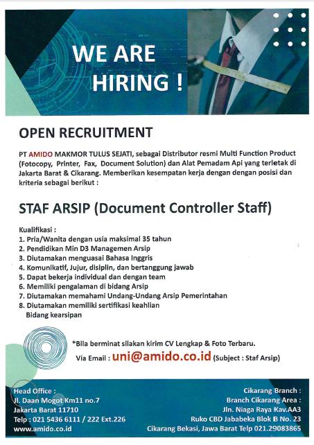 Id Lowongan Kerja En Career Opportunities Program Pendidikan Vokasi Universitas Indonesia
