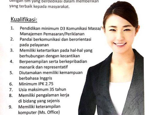 Lowongan Public Relation