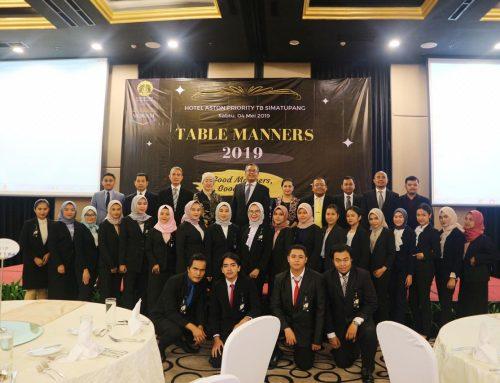 Table Manners oleh Program Studi Administrasi Perkantoran